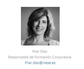 PILAR DIAZ responsabel de Formacion Corporativa de INESE